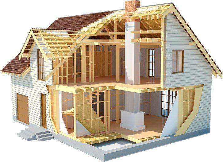 Каркасные дома - достоинства и недостатки. Как выглядит конструкция деревянных каркасных домов?